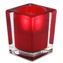 Sterno Products® 80242 Signature Red Glass Lamp