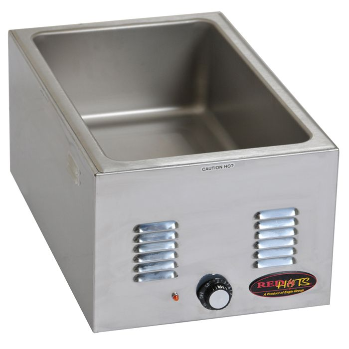 Eagle® Foodservice 1220FWE-120 Redhots S/S Countertop Food Warmer