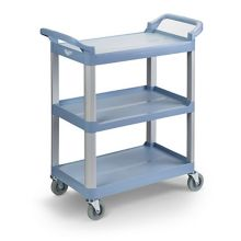 Vollrath® 97004 Blue-Gray Multi-Purpose 33 x 16-13/16 x 37 Plastic Cart