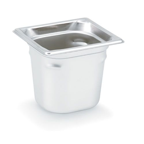 "Vollrath 90682 Super Pan 3® S/S 1/6 Size x 8"" D Food Pan"