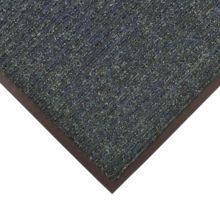 Notrax 4457-926 Bristol Ridge 4' x 6' Slate Blue Scraper Floor Mat
