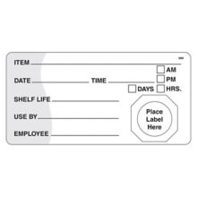 DayMark 110002 MoveMark 4 x 2 Use By / Shelf Life Label - 500 / RL