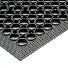 Notrax 437-434 Tek-Tough Jr® 3' x 10' Black Floor Mat