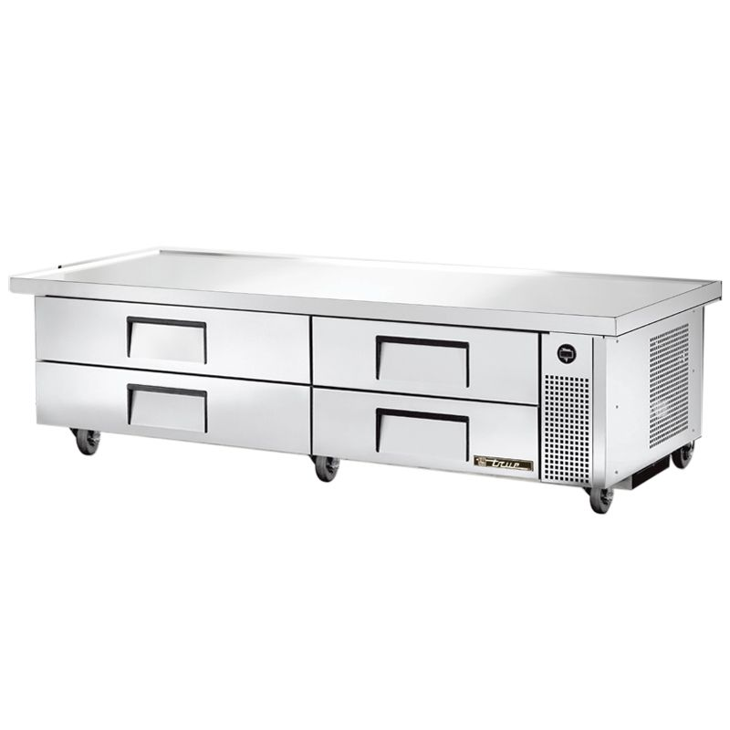 True® TRCB-82-86 S/S 4-Drawer 86