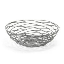 """FOH BBK013GYI22 Patina Wireware™ 8"""" Pewter Basket - 6 / CS"""