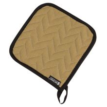 "San Jamar® 812TPH Bestan® 7"" Tan Pot Holder - Dozen"