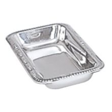 """Adcraft® SCT-9 9"""" x 4"""" Stainless Steel Celery / Relish Tray"""
