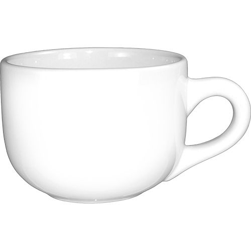International Tableware 822-02 Euro White 14 Oz Latte Cup - 24 / CS