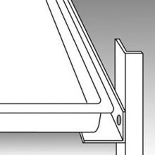 Traulsen G1ACC-TK1 8 Pair #1 Type Tray Slides for 1-Section G-Series