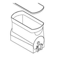 BUNN® 34000.0205 Black Hopper for Ultra-2 Frozen Beverage Machines