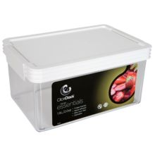 ClickClack® 502002 Airtight Storers 2 Qt Canister With White Lid