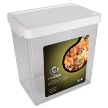 ClickClack® 505002 Airtight Storers 4.5 Qt Canister With White Lid