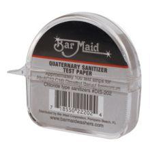Bar Maid DIS-202 Quaternary Sanitizer Test Strips Dispenser - 12 / CS