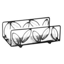 American Metalcraft NDSL59 Ironworks Leaf Design Wire Napkin Basket