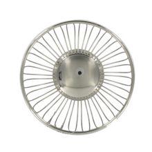 "American Metalcraft BSS7 6-5/8"" Round S/S Wire Basket"