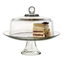 Anchor Hocking® 87892L13 Glass 2 Piece Cake Set - 2 / CS