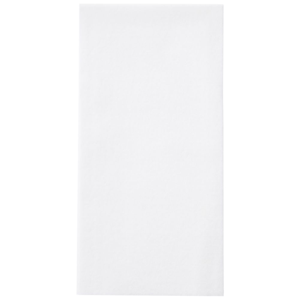 Hoffmaster® 856499 Linen-Like® White Guest Towel - 500 / CS