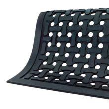 The Andersen Co. 420 Comfort Flow Black 2' x 3' Anti-Fatigue Floor Mat