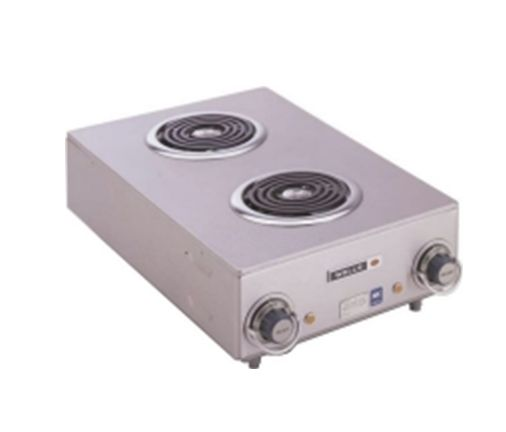 "Wells Manufacturing H115 Spiral Hotplate with Dual 6"" Elements"