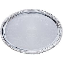Carlisle® 608904 Oval Celebration™ Tray with Ornate Border