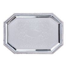 Carlisle® 608902 Celebration Octagonal Tray with Beaded Border