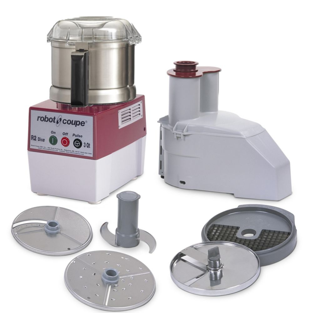 Robot Coupe® R2DICE ULTRA 3 Qt. Combination Food Processor