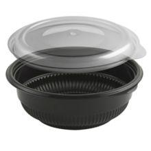 Anchor Packaging 4115816 Black 12 Oz. Incredi-Bowl Combo - 250 / CS