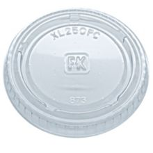Fabri-Kal® 9505083 Clear Plastic Portion Cup Lid - 2500 / CS