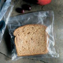 """FoodHandler 20-77 LDPE 7"""" x 7"""" Sandwich Bags - 2000 / CS"""