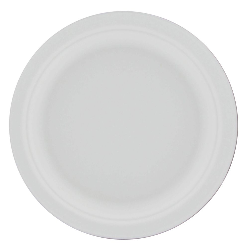 "Stalk Market P011 Compostable 7"" To-Go Plate - 1000 / CS"