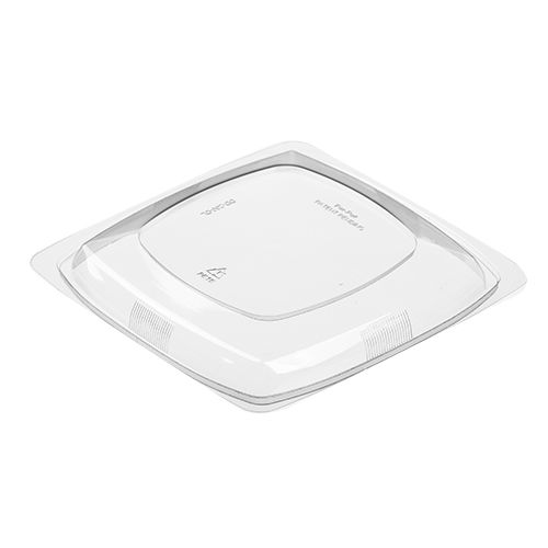 Par-Pak® 5DD200-DL Dome Lid For 24 - 48 Oz Square Bowls - 300 / CS