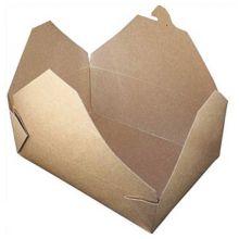 Fold-Pak 03BPEARTHM Bio-Pak 66 Oz /  #3 Take-Out Container - 200 / CS