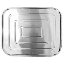 """Darling Aluminum Foil Half Size 12-13/16"""" x 10-7/16"""" Lid - 100 / CS"""