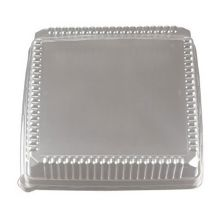 "EMI Yoshi® EMI-1616LP Clear Lid For 16"" Square Tray - 40 / CS"