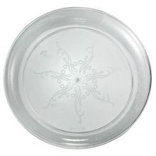 "EMI Yoshi® EMI-CC9 Clear Plastic 9"" Plate - 240 / CS"