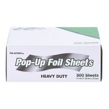 "Darling Aluminum Foil 9"" x 10-3/4"" Interfolded Foil Sheets - 3000 / CS"