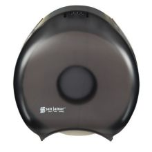 "San Jamar R2000TBK Black Pearl 9"" Jumbo Bath Tissue Dispenser"
