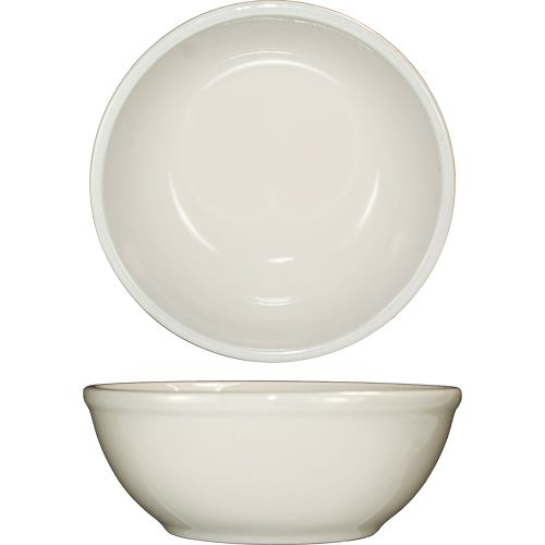 International Tableware RO-24 White RE 10 Oz Oatmeal Bowl - 36 / CS
