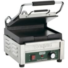 Waring WFG150 Tostato Perfetto 120V Compact Italian-Style Flat Grill