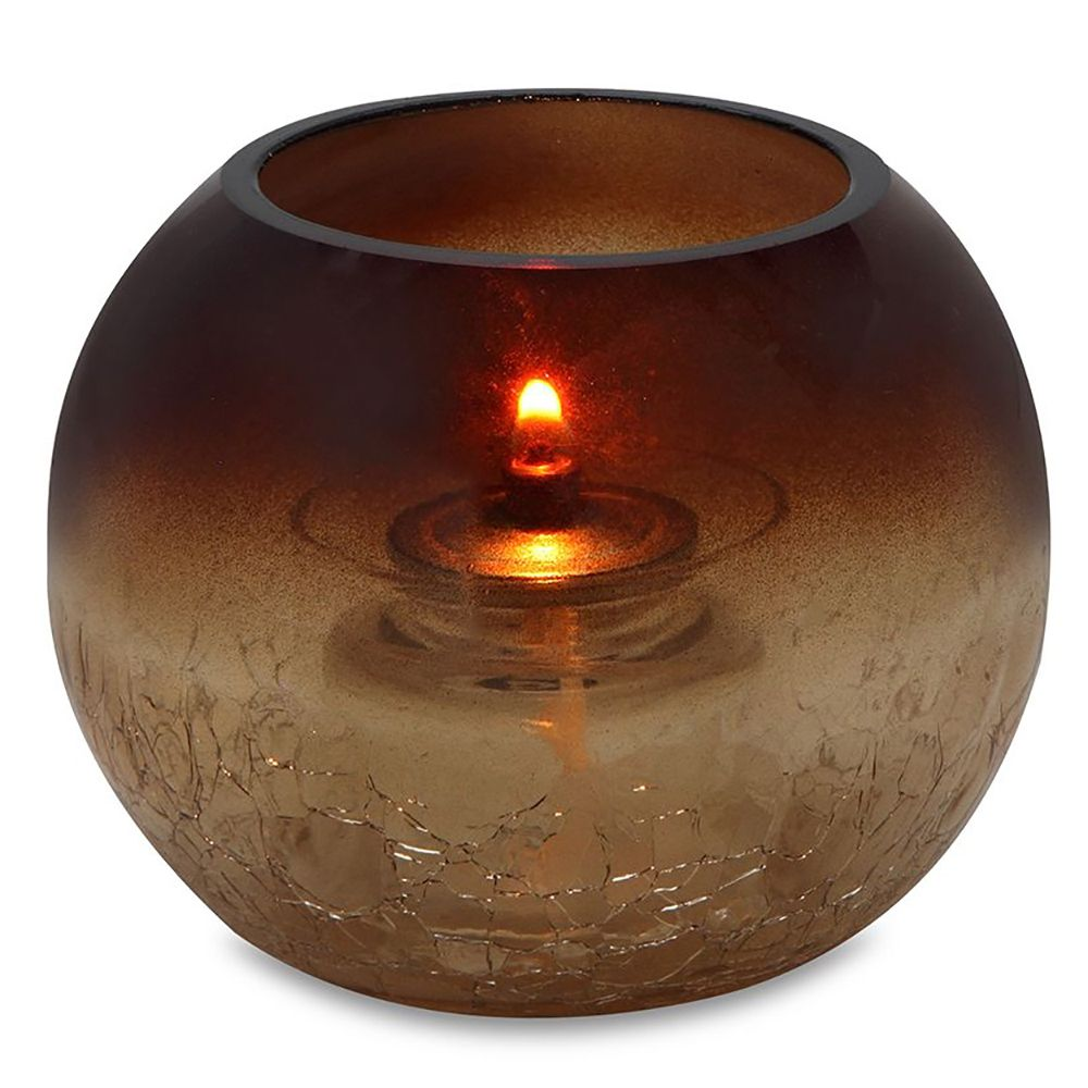 Sterno Products® 80288 Roma Amber Sphere Lamp