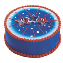 Bakery Crafts® USA Star Poptop - 24 / BX