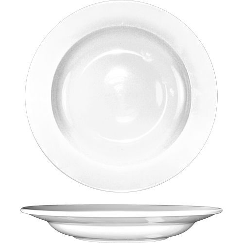 International Tableware DO-105 White 12 Oz Pasta Bowl - 12 / CS