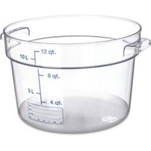 Carlisle® 1076707 StorPlus 12 Qt. Round Food Storage Container
