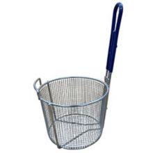 "AyrKing B122 Plated Wire 9"" Round Dip Basket"