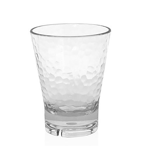 FOH ADO004CLT23 Drinkwise® 14 Ounce Hammered Rocks Glass - 12 / CS