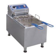 Globe Food PF16E Countertop S/S Electric 16-Lb. Capacity Fryer