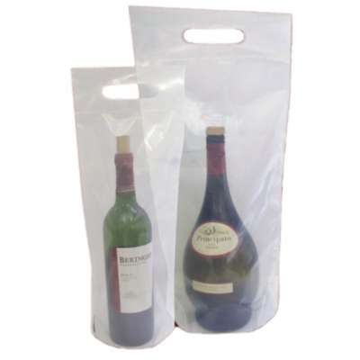 Plain Wine Doggie Bag