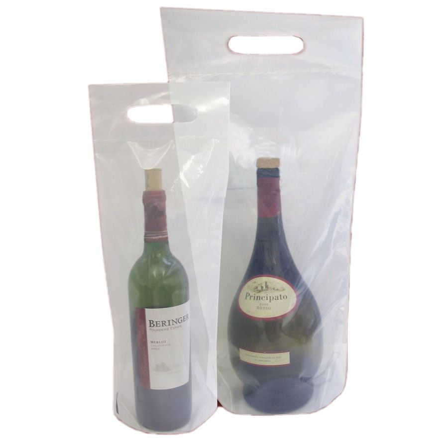 Plain Wine Doggie Bag - 100 / CS