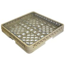 Traex® TR13AW Beige Low Profile Rack With Hold Down Grid