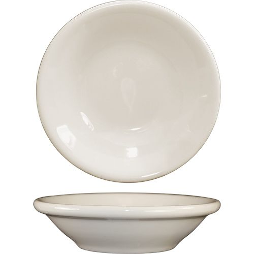 International Tableware RO-11 White 4.5 Oz Fruit Bowl - 36 / CS